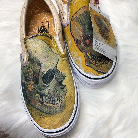 Vans Shoes Vans X Vincent Van Gogh Slipon Skull Poshmark